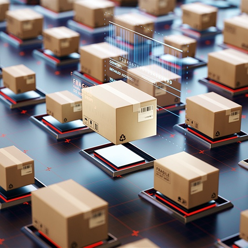 Boxes and data — supply chain solutions