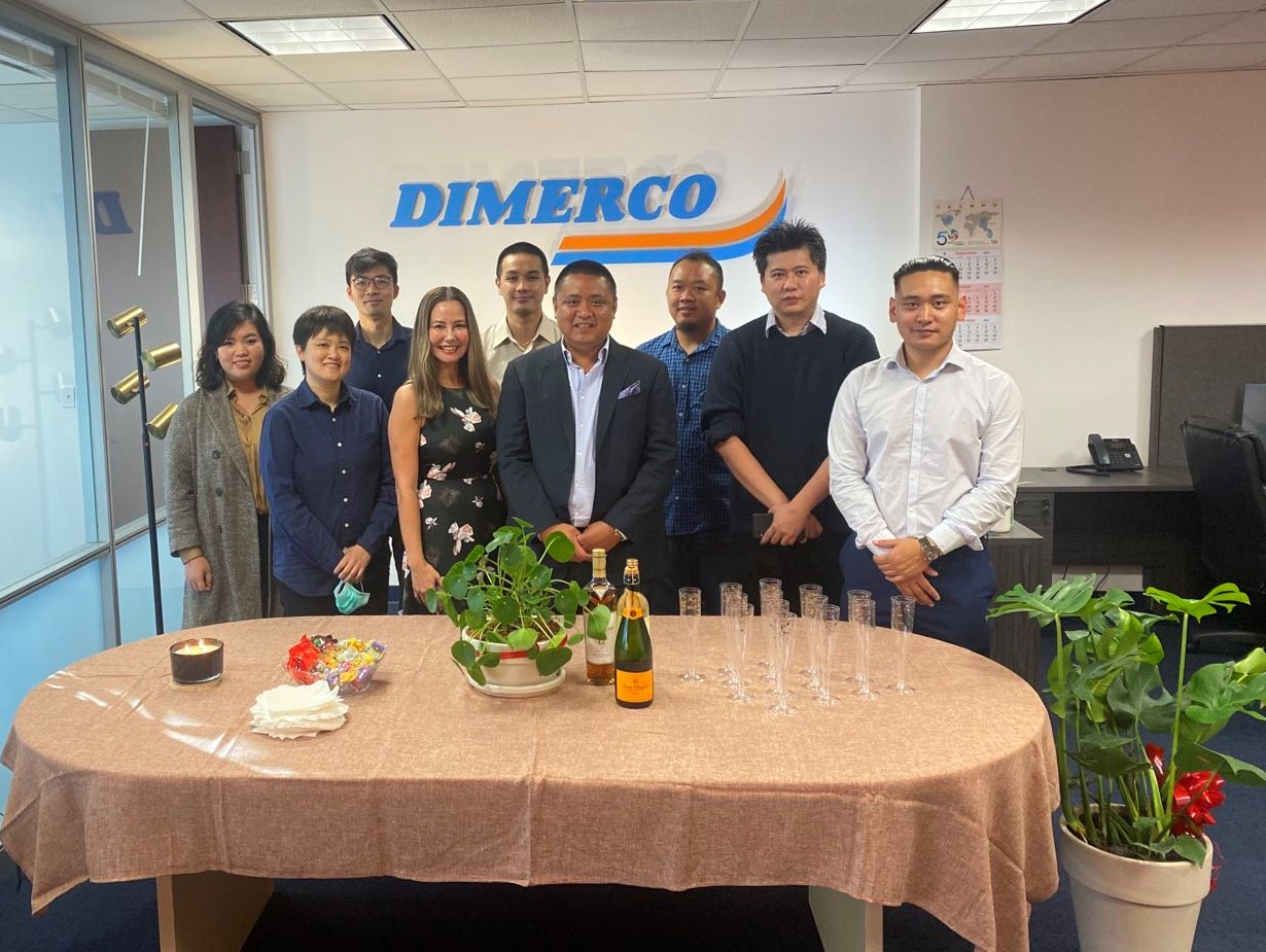 Dimerco sales office New Jersey Opening